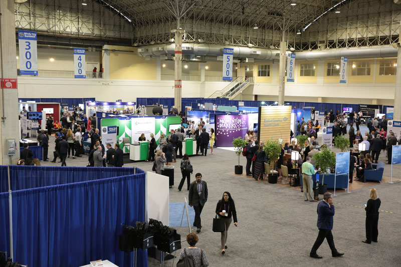 Exhibitors at the 2019 WCS